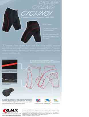 Cycling, Cycling, Cycling - New Cycling Shorts